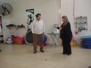 con Lucila Rafaela